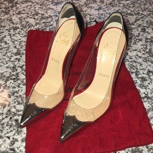 Christian louboutin heels w/ dust bag and box
